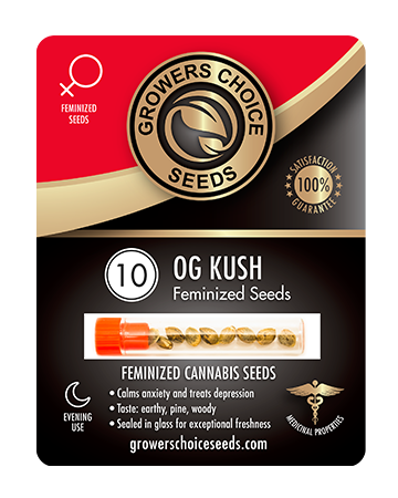 Buy OG Kush Cannabis Seeds